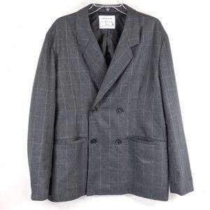 Urban Outfitters windowpane check print blazer